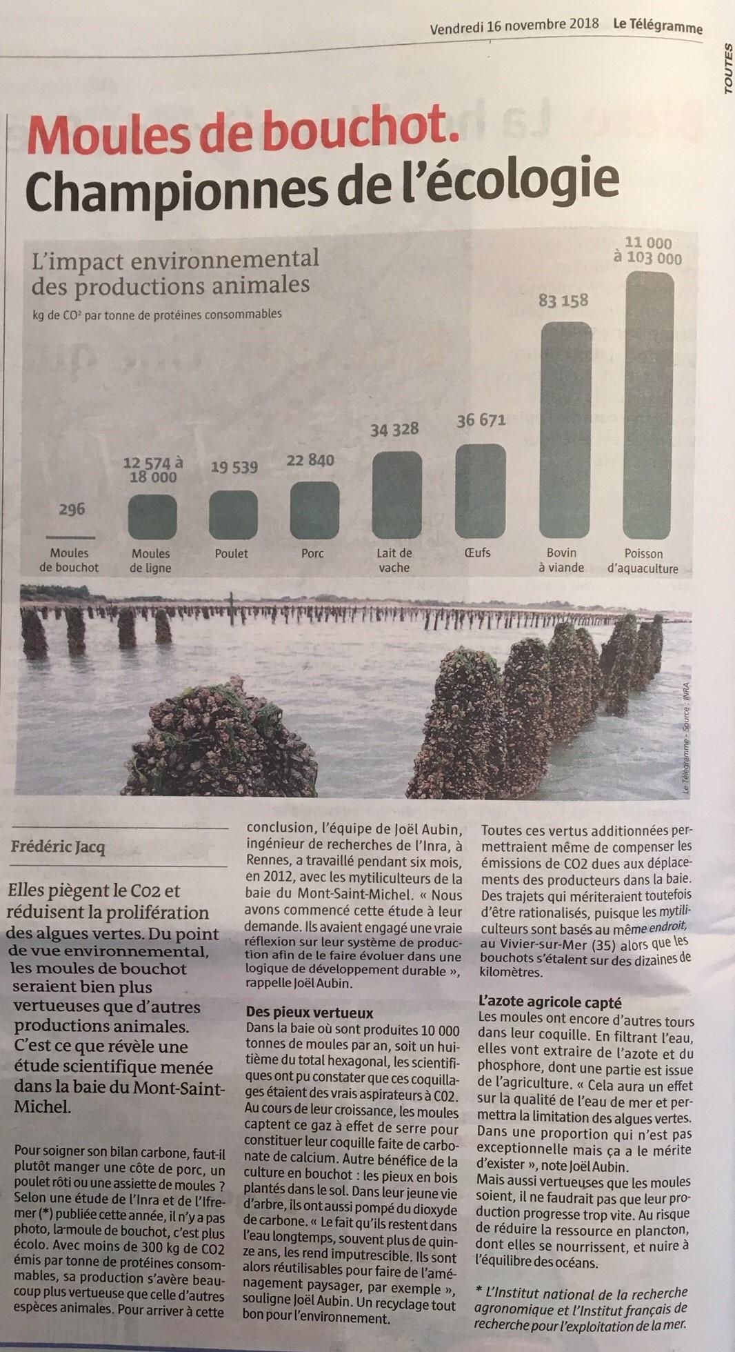 2018 11 16 Impact Environnemental Article Le Tlgramme site
